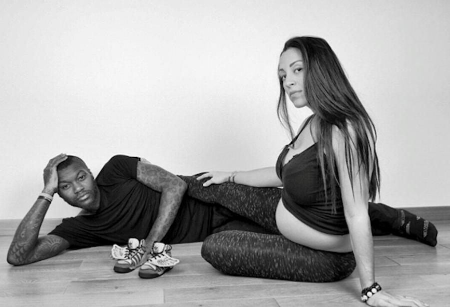 Djibril Cissé et sa compagne, Marie-Cécile Lenzini, attendent leur premier enfant