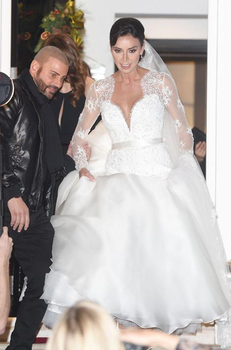 Le mariage de Frank Lampard et Christine Bleakley à Londres le 20 décembre 2015