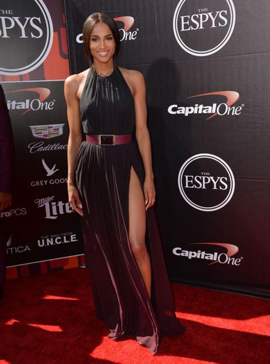 Ciara à Los Angeles le 15 juillet 2015