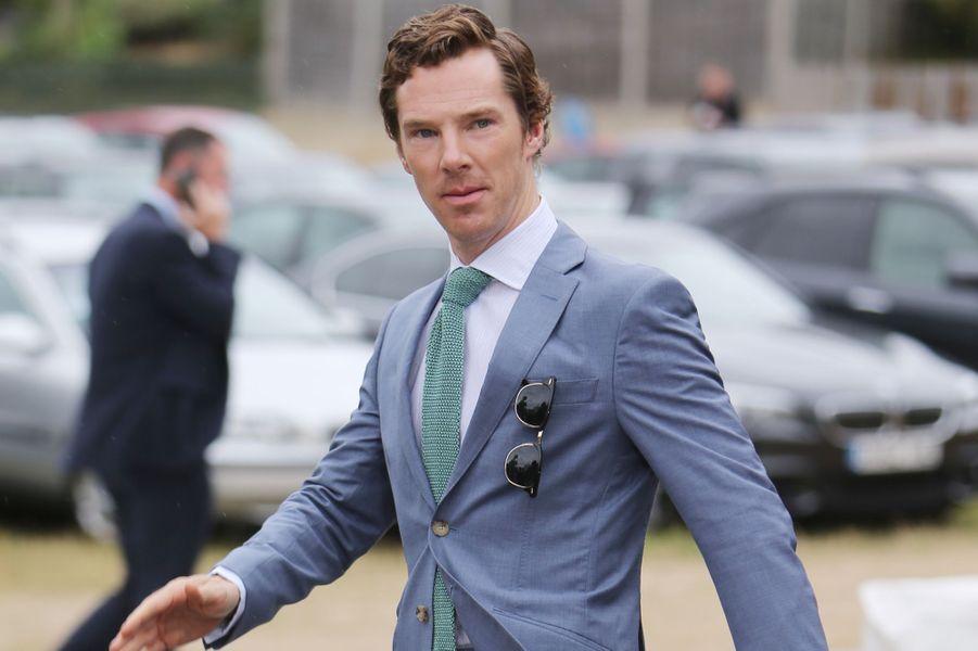 Benedict Cumberbatch à Londres le 12 juillet 2015
