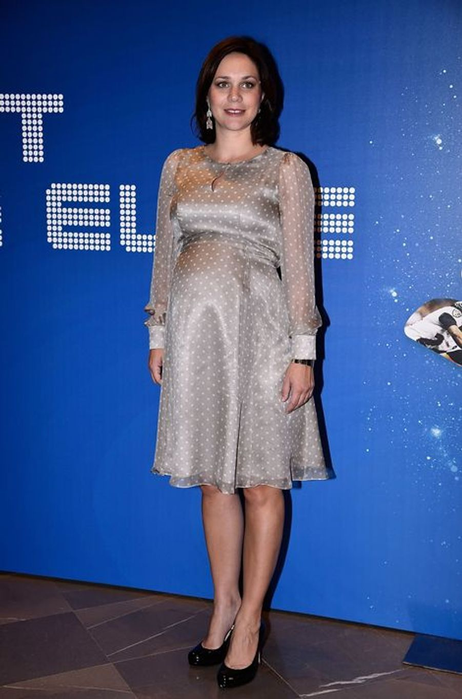 Nathalie Péchalat à la convention Sportel Monaco 2015 le 13 octobre dernier.
