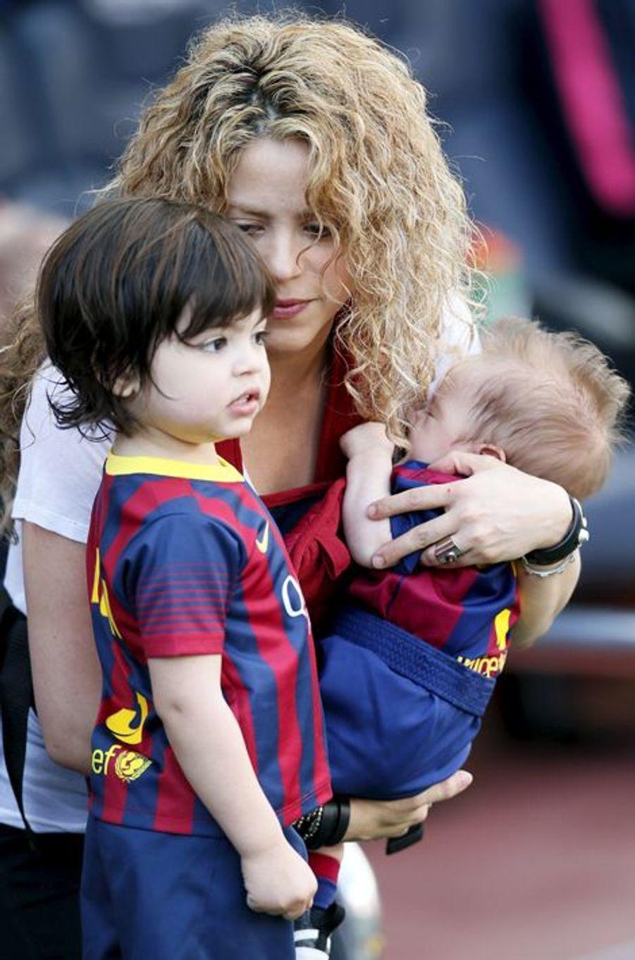 Shakira et ses garçons, Milan et Sasha