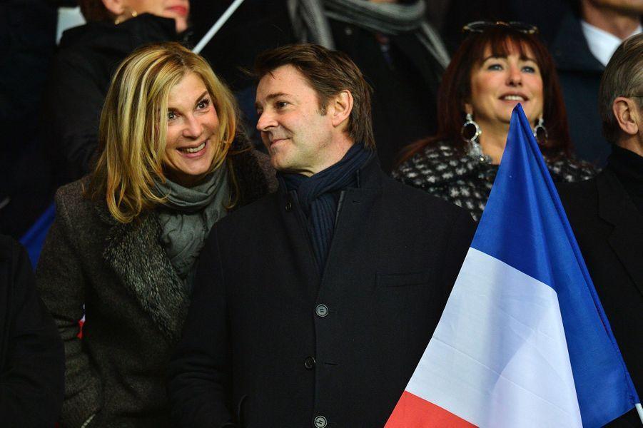 Michèle Laroque et François Baroin