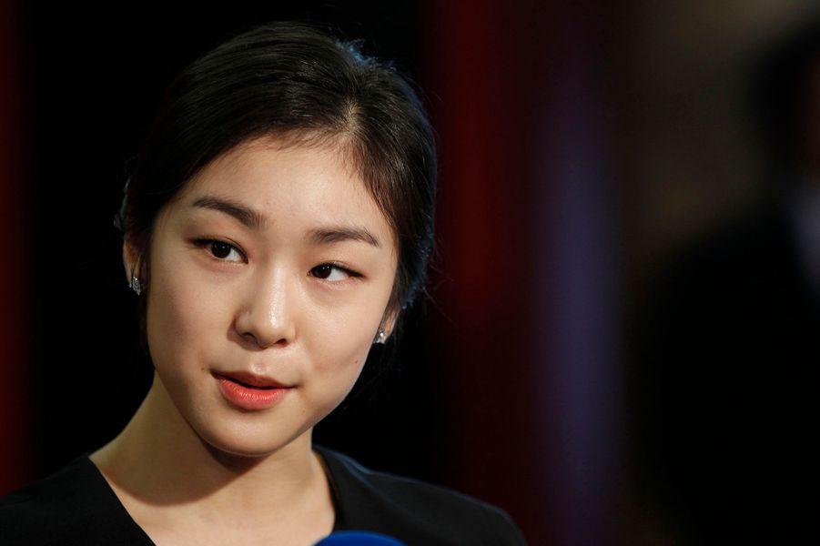 La patineuse sud-coréenne Kim Yu-na