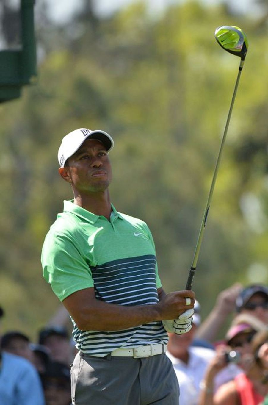 Tiger Woods à Augusta le 8 avril 2015