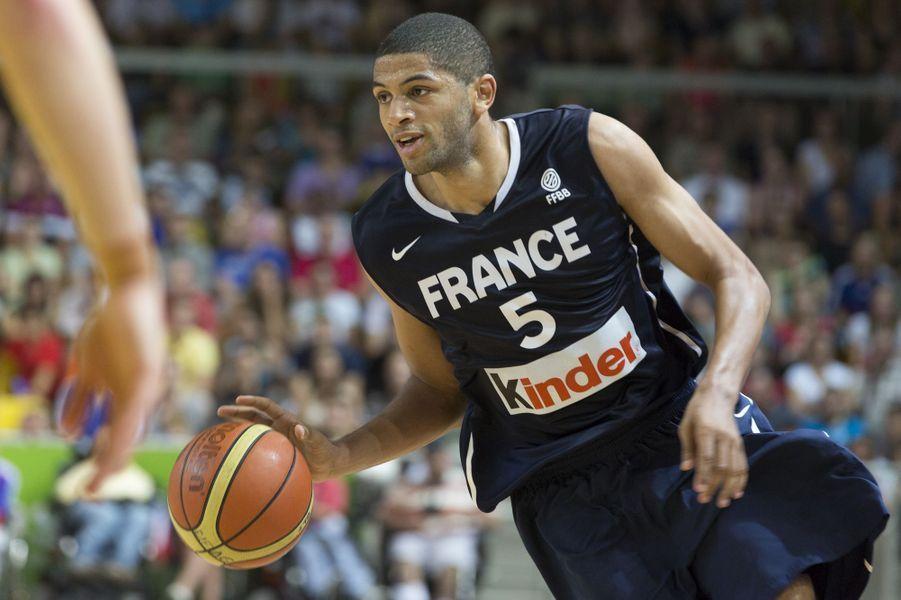 Le basketteur de 26 ans arrive à la septième position du classement «L'Équipe» avec 9 millions d'euros de revenus. Star de la NBA, Nicolas Batum évolue depuis 2008 pour les Trail Blazers de Portland.