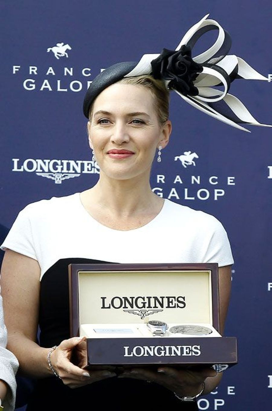 Kate Winslet, élégante à Chantilly