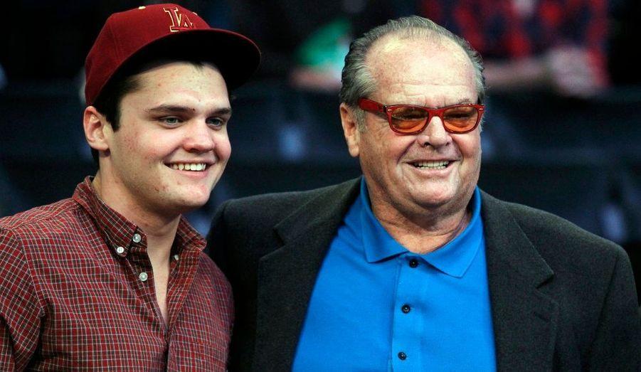 Jack Nicholson et son fils Raymond