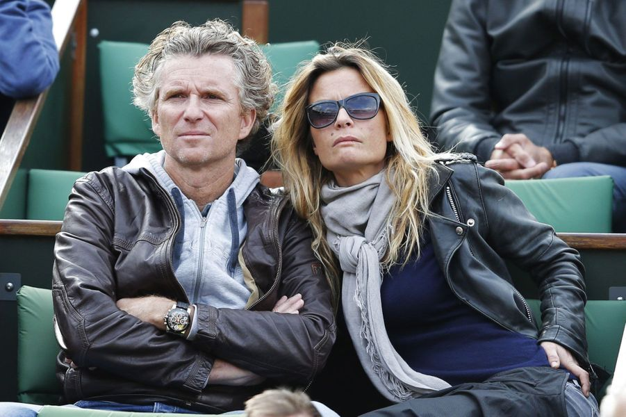 Denis Brogniart et son épouse Hortense