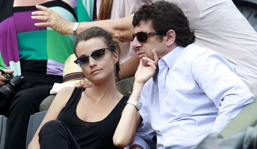 Patrick Bruel et sa petite-amie la journaliste Céline Bosquet.
