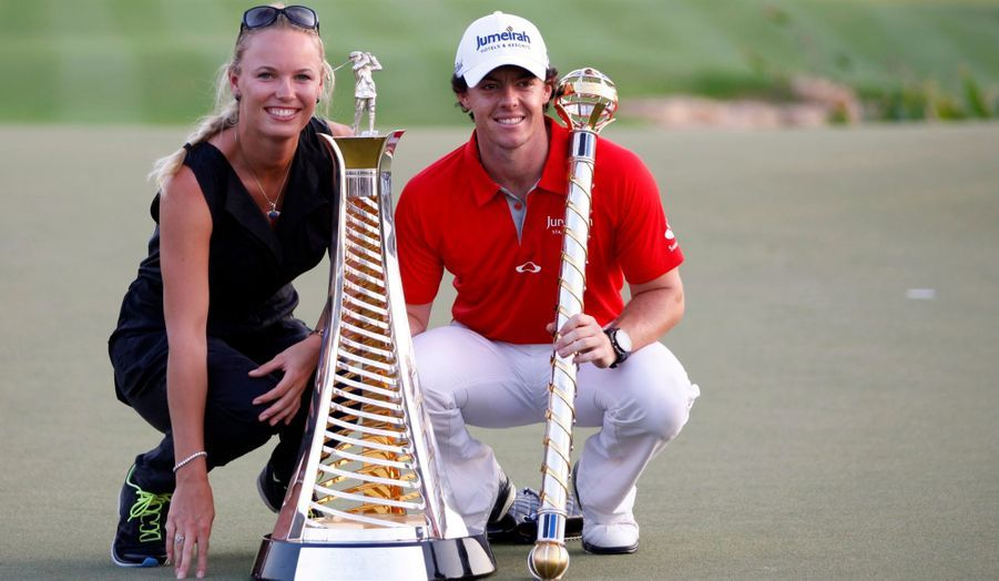 Les deux stars du tennis et du golf formeraient un couple depuis juillet 2011.