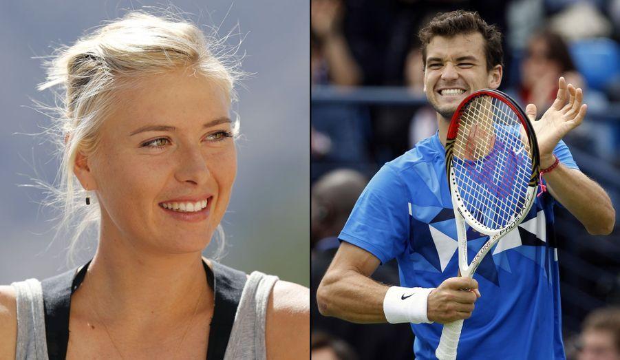 Tout juste séparée de son basketteur de fiancé, Maria Sharapova aurait retrouvé l'amour dans les bras de ce tennisman bulgare de 21 ans.