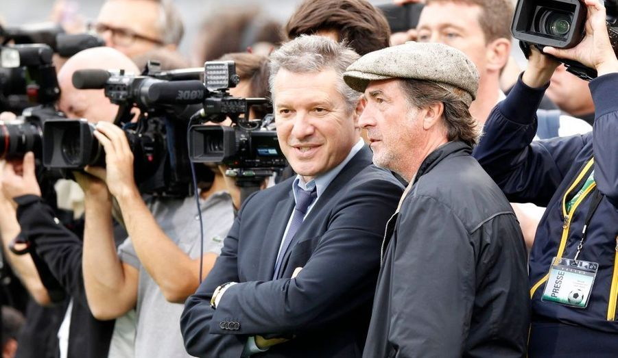 Thierry Rey et François Cluzet