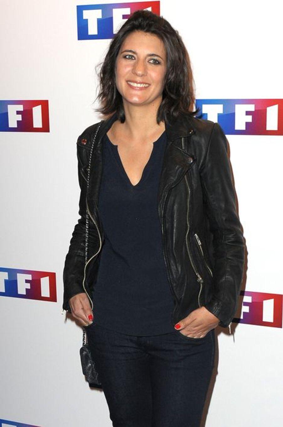 """La compagne de Raymond Domenech remporte le Gérard""""de la grosse descente"""" pour son CV hétéroclite : """"de """"100% Mag"""" (M6) à """"Splash"""" (TF1) au tirage du Loto (TF1)""""."""