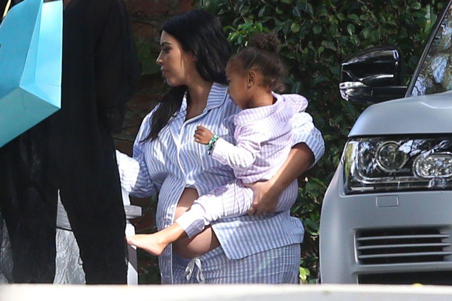 Kim Kardashian et sa fille North