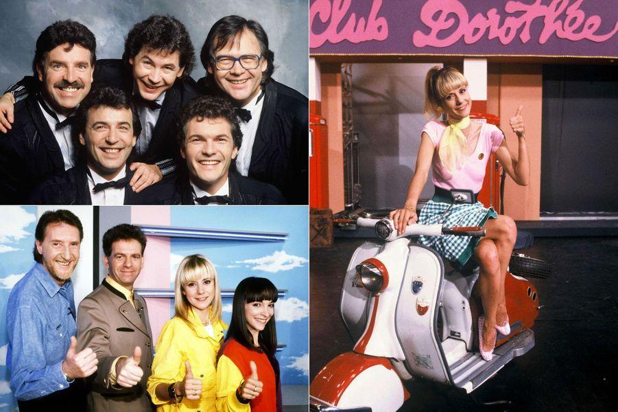 Le 2 septembre 1987, TF1 diffusait pour la première fois le «Club Dorothée», émission qui fera le bonheur de la chaîne pendant dix ans. Jusqu'en 1997, Dorothée, Ariane, Jacky ou encore Corbier et Les Musclés ont diverti des millions d'enfants, à base de sketchs, chansons et autres parodies. Le succès a été tel que le «Club Dorothée» est devenu en quelques années un véritable phénomène de société, accueillant sur son plateau les plus grandes stars de l'époque, de Christophe Lambert à Pierre Richard, en passant par David Hasselhoff (période«Alerte à Malibu») ou encore Michèle Laroque.Mais Dorothée et ses acolytes ont aussi rencontré des personnalités politiques: François Mitterrand, Jean Tiberi et même Sœur Emmanuelle. A son apogée, le «Club Dorothée» a occupé jusqu'à 26 heures d'antenne par semaine et réalisait par moment des pics d'audience allant jusqu'à 86 % de part de marché.Avec le succès est également venu la polémique. En 1989, Ségolène Royal se lance dans une grande campagne contre la violence à la télévision, pointant du doigt les mangas japonais, diffusés masse dans le «Club Dorothée».Dix-huit ans après la fin de l'émission, que sont devenues les stars du «Club Dorothée»? Si Jacky est toujours à la télévision, tout comme Babsie Steger que l'on peut voir dans différentes séries télévisées, Les Musclés ont de leur côté dû faire leurs adieux à deux d'entre eux,Framboisier, mort dimanche à 64 ans, et René, décédé en 2009 d'une rupture d'anévrisme.Retrouvez en images nos autres diaporamas «Que sont-ils devenus?» Que sont devenus les champions du monde 1998Que sont devenus les acteurs de«7 à la maison»Que sont devenus les acteurs du «Prince de Bel Air»?Que sont devenus les acteurs de«Lost»?Que sont devenus les acteurs de«Friends»?Que sont devenus les acteurs de«La Fête à la Maison»?Que sont devenus les acteurs de«21 Jump Street»?Que sont devenus les acteurs de«Sauvés par le Gong»?