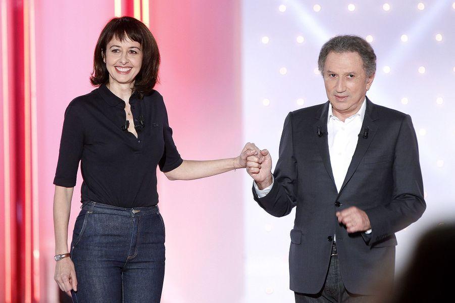 Valérie Bonneton et Michel Drucker