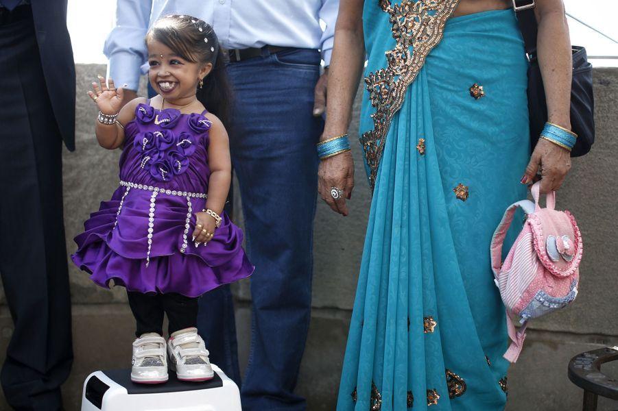 Jyoti Amge en septembre 2014