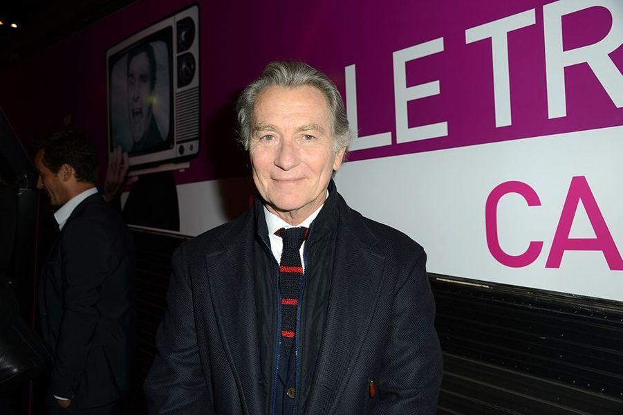 William Leymergie à l'inauguration du Train de la Télé à Paris le 6 octobre 2014