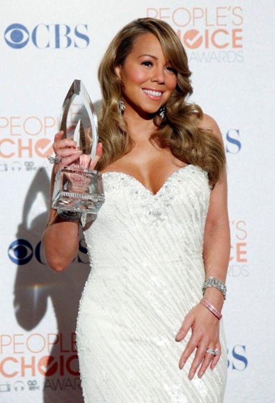La diva Mariah Carey a été élue artiste R&B de l'année