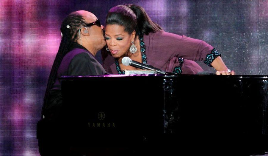 Stevie Wonder au piano