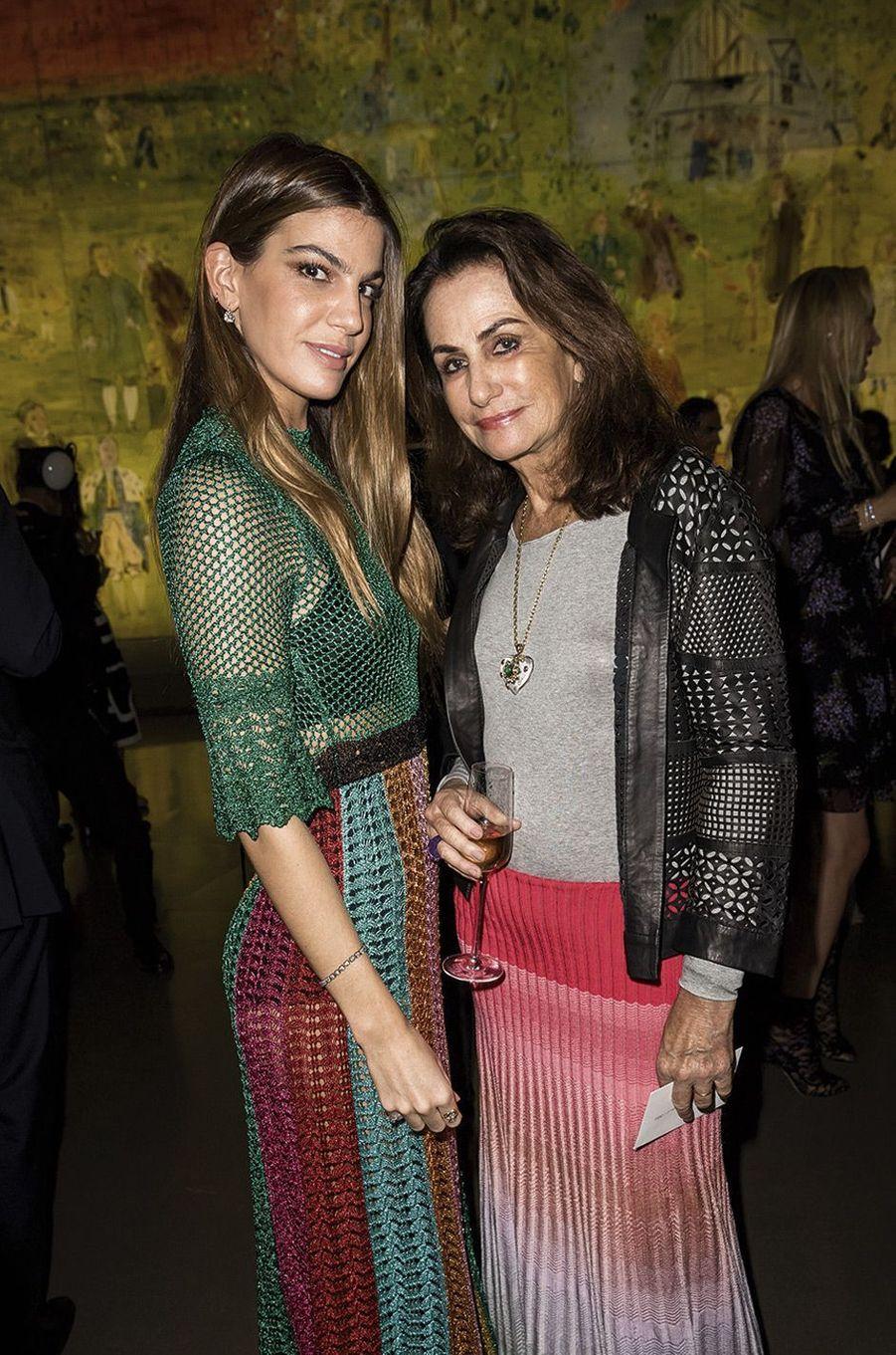 Bianca et Georgina Bradolini d'Adda.
