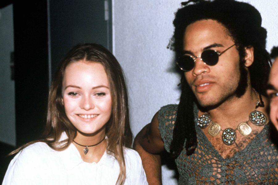1992-1996 Lenny Kravitz et Vanessa Paradis sont en couple