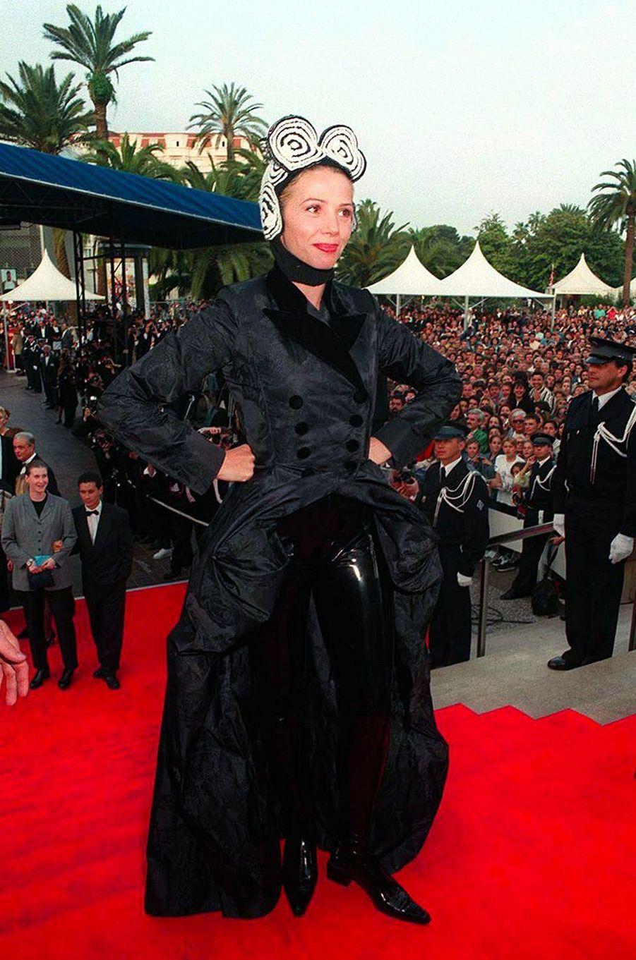 Victoria Abril au Festival de Cannes 1996