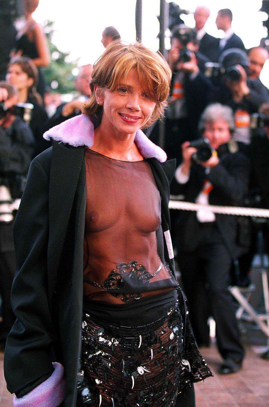 Victoria Abril au Festival de Cannes 1997