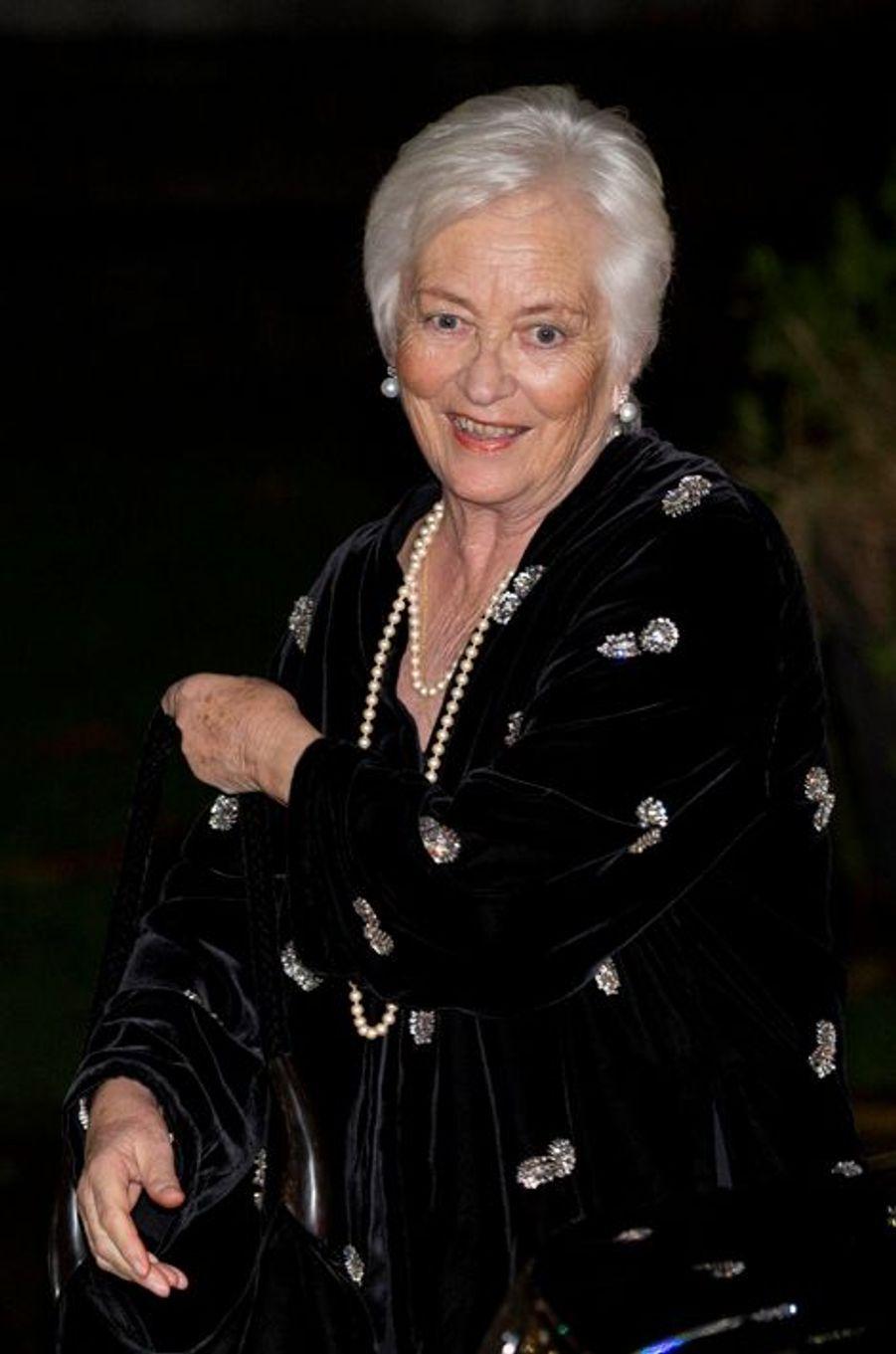 L'ex-reine Paola de Belgique à Liège, le 14 novembre 2015