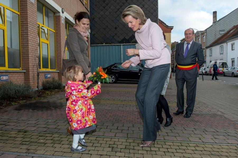 """Mathilde visite le centre """"La Braise"""""""