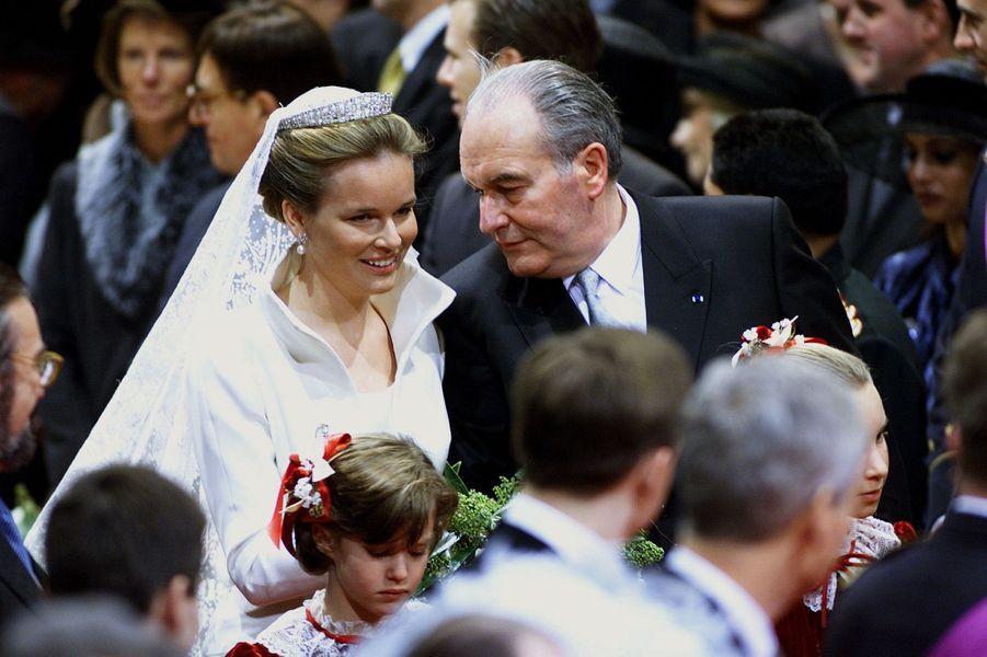 Au mariage de Mathilde et Philippe