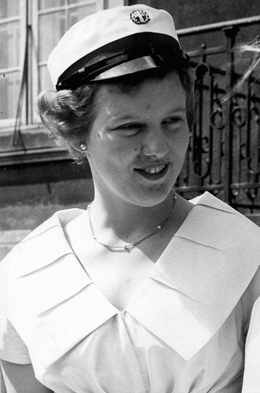 Margrethe de Danemark, en 1959