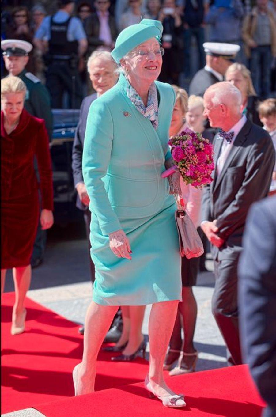 La reine Margrethe II de Danemark à Copenhague, le 5 juin 2015