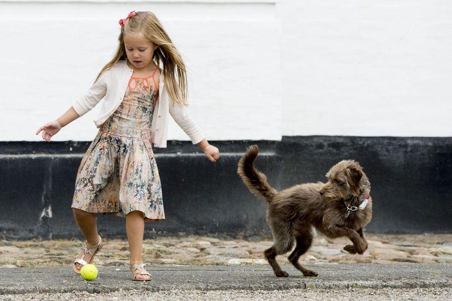 Danemark. La famille royale incomplète pour la photo d'été