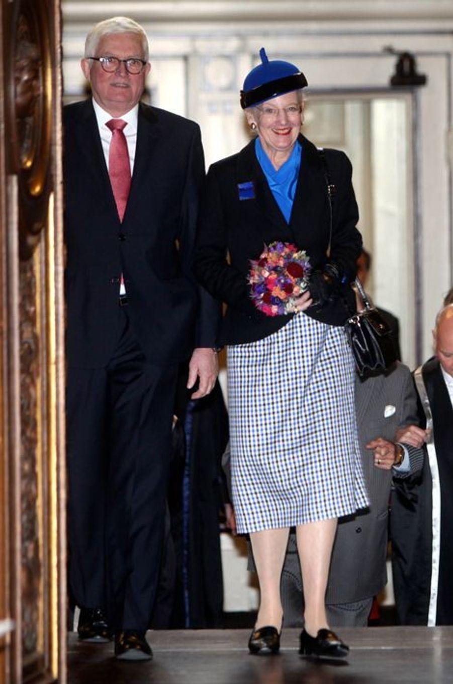 La reine Margrethe II de Danemark à Copenhague, le 20 novembre 2015