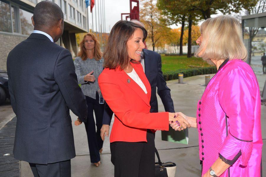La princesse Marie de Danemark à Paris, le 28 octobre 2015