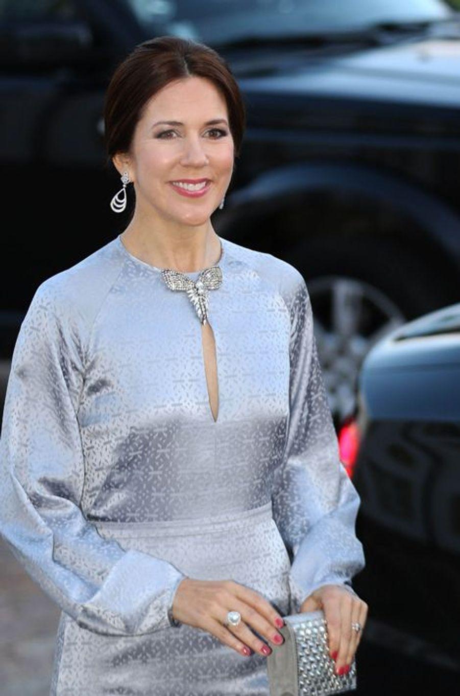 La princesse Mary de Danemark à Fredensborg, le 16 avril 2015