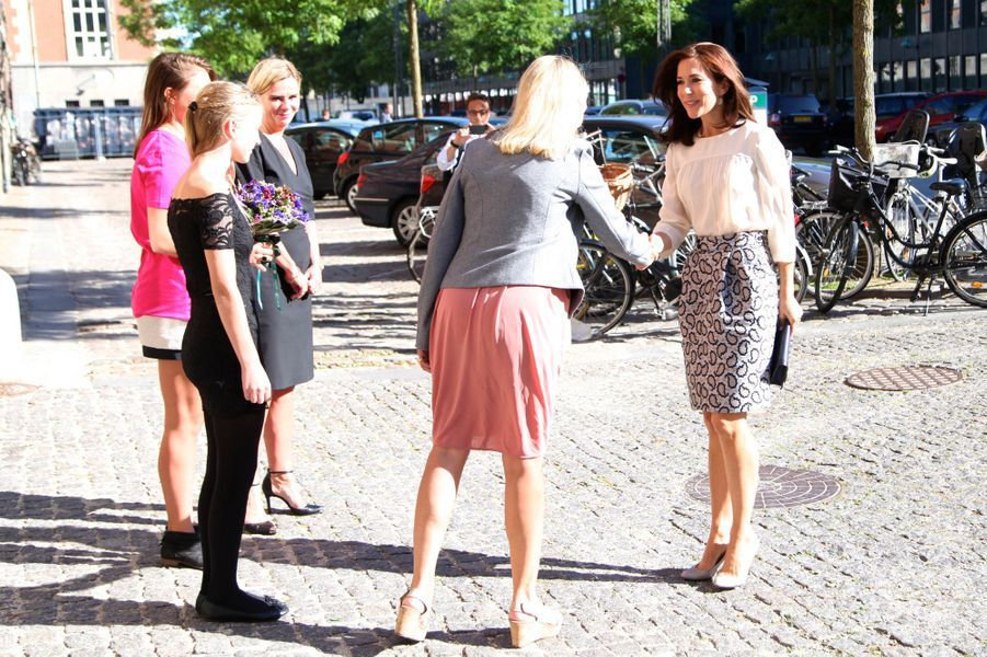 La princesse Mary de Danemark à Copenhague, le 7 septembre 2015