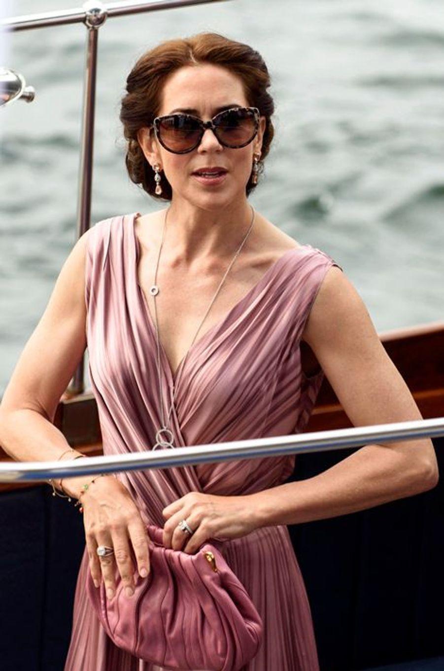La princesse Mary de Danemark à Copenhague, le 4 juillet 2015