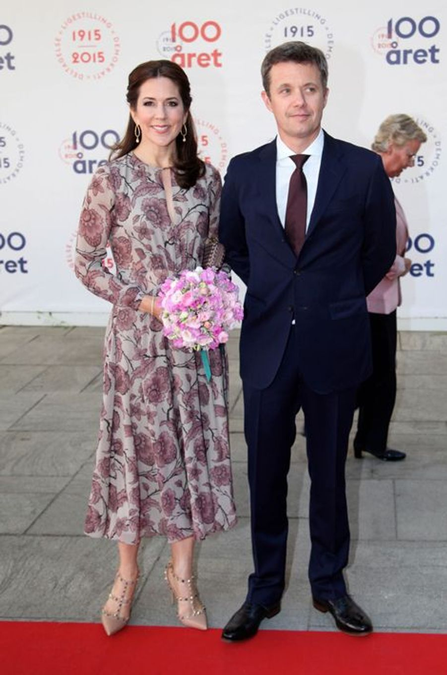 La princesse Mary et le prince Frederik de Danemark à Copenhague, le 4 juin 2015