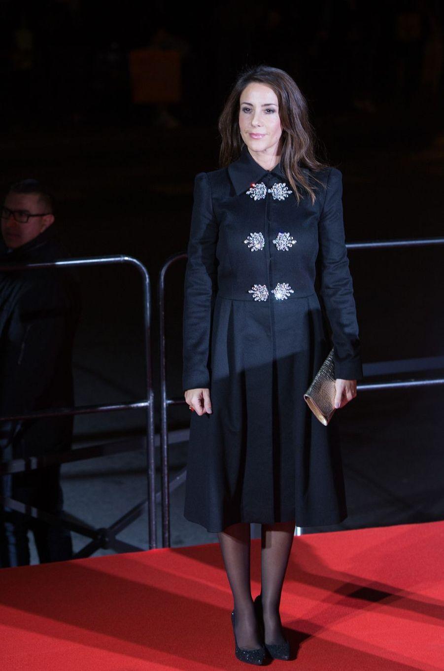 La princesse Marie de Danemark à Paris sa ville natale, le 15 novembre 2017