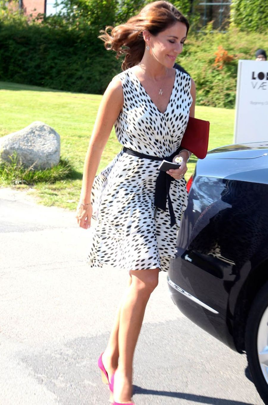 La princesse Marie de Danemark à Copenhague, le 21 août 2016