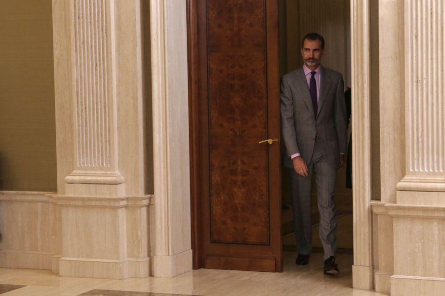 Le roi Felipe VI d'Espagne à Madrid, le 18 novembre 2016