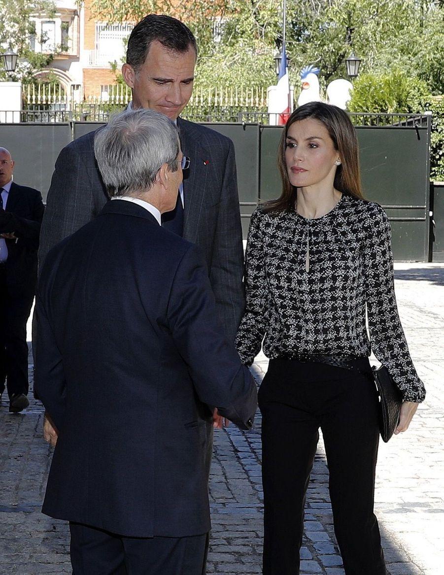 Letizia et Felipe, une minute de silence pour Nice