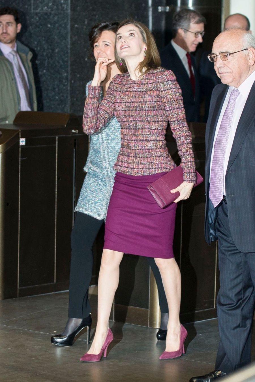 La Reine Letizia D'Espagne Lors D'une Réunion De La Fondation D'aide Contre La Toxicomanie 2