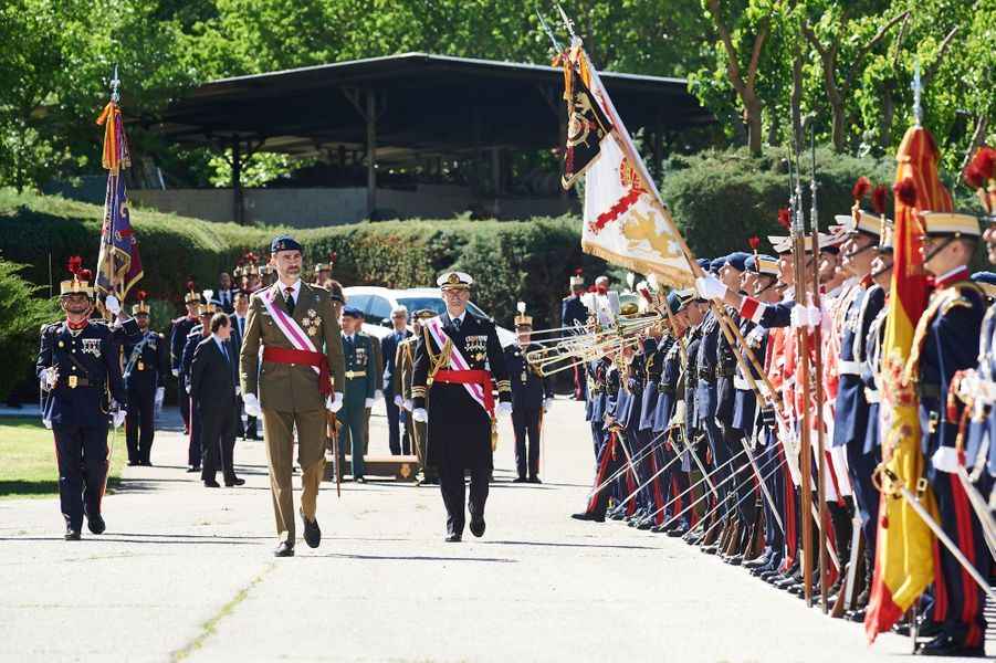 Le roi Felipe VI d'Espagne au château du Pardo à Madrid, le 22 mai 2013