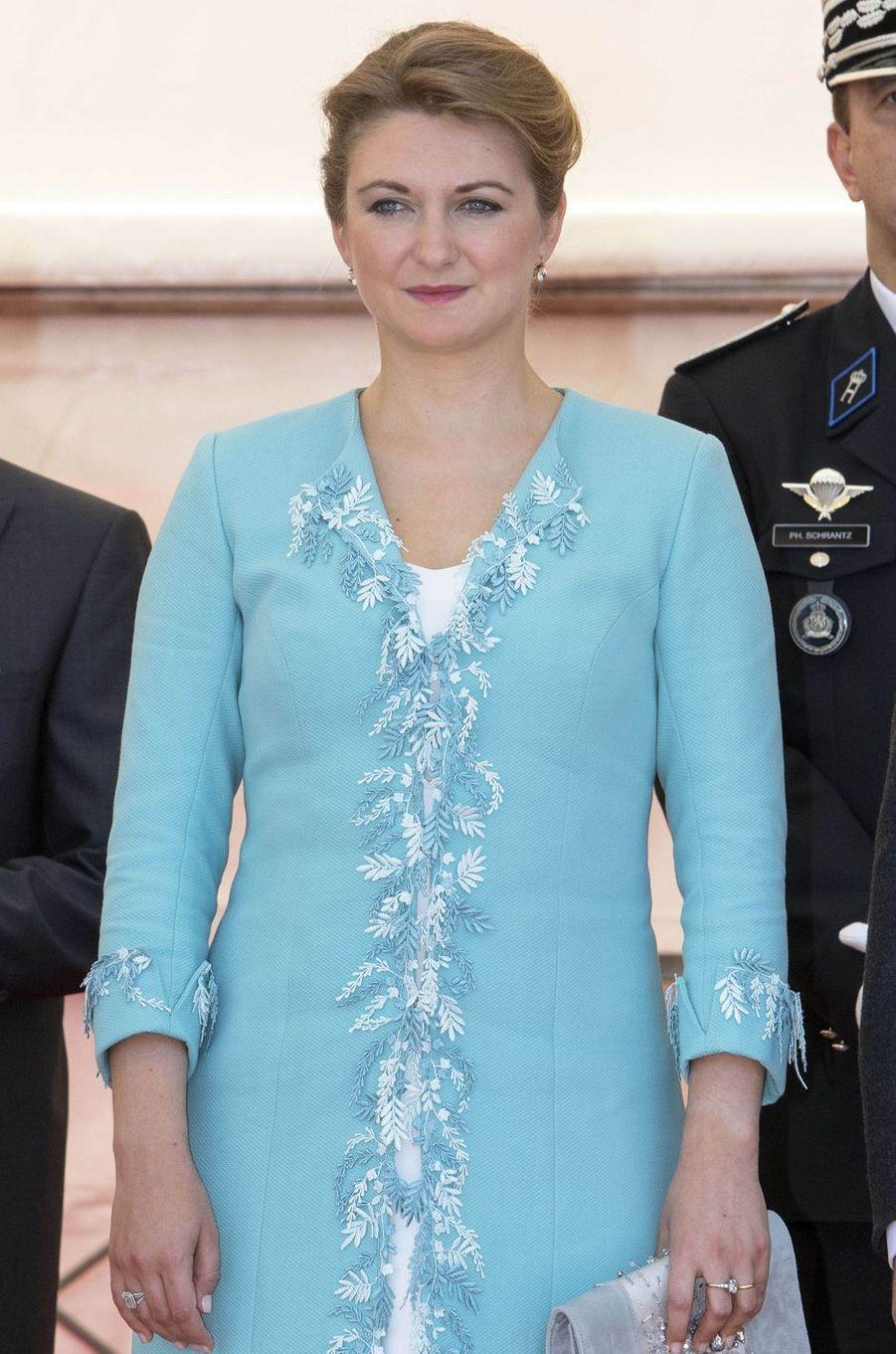 La princesse Stéphanie de Luxembourg à Luxembourg, le 23 juin 2016