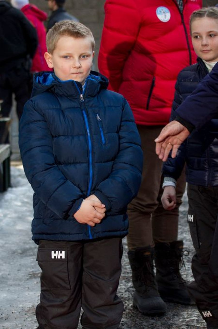 La princesse Ingrid-Alexandra et le prince Sverre-Magnus à Oslo, le 15 mars 2015