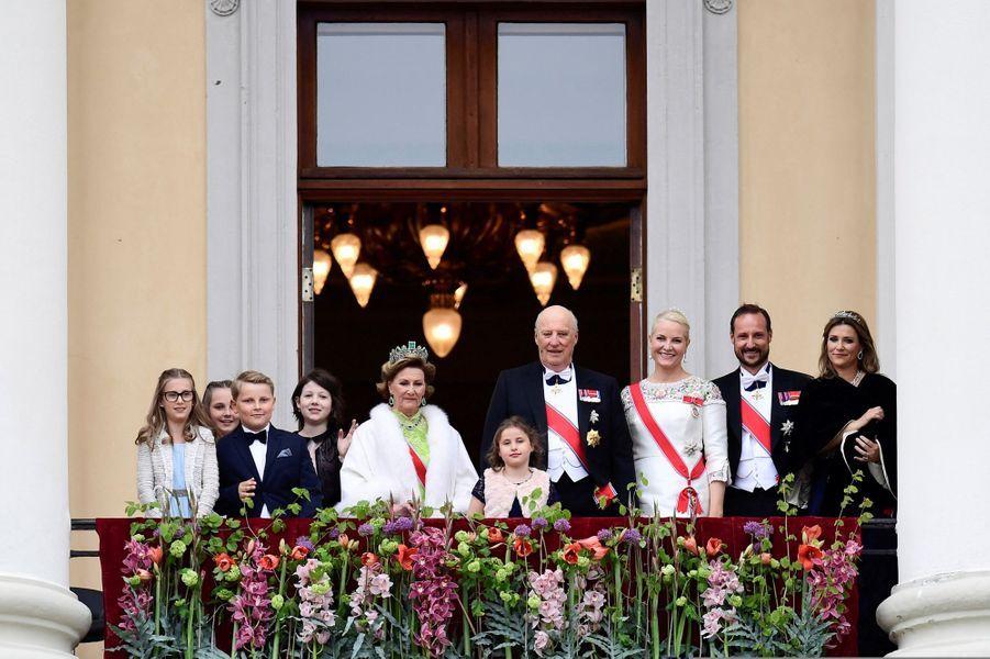 La famille royale de Norvège
